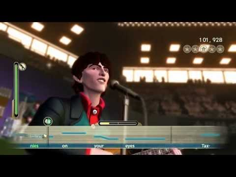 Beatles Rock Band Taxman Vocals FC