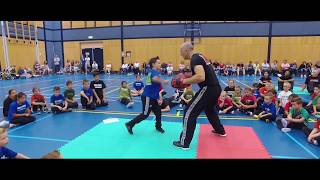START 'EM YOUNG, RAISE 'EM RIGHT! Kidz Krav by Institute Krav Maga Netherlands.