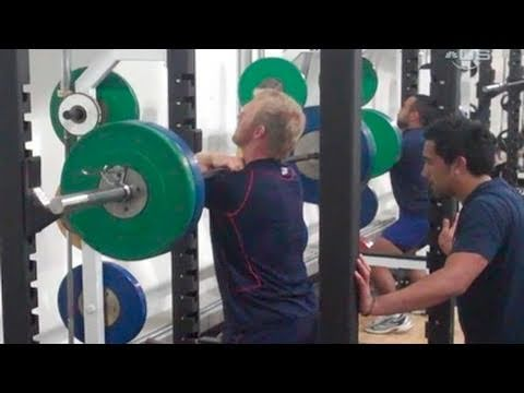 American Rugby Team Workout - From Universal Sports