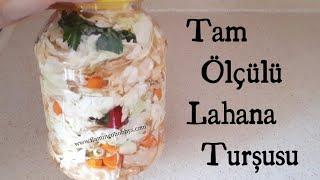 TAM ÖLÇÜLÜ NEFİS LAHANA TURŞUSU / TURŞU TARİFLERİ