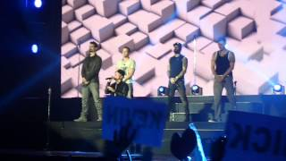 Backstreet Boys - The one live in Minsk, Belarus 24.02.2014