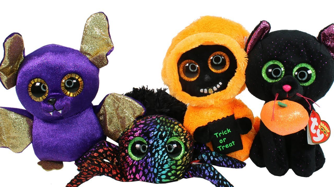 73cc6adf26a NEW Halloween 2018 Beanie Boos Haul Unboxing Toy Review TY Beanie ...