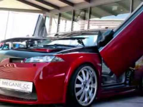 renault megane ii cabrio coup by botox tuning youtube. Black Bedroom Furniture Sets. Home Design Ideas