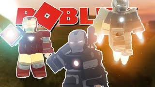 Roblox Iron Man script-Roblox Game Review