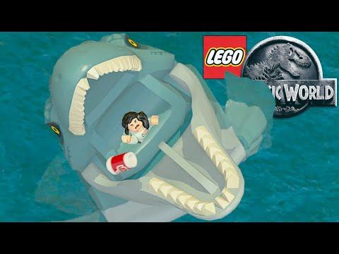 LEGO Jurassic World 🦖#20 - Die FLUGSAURIER BRECHEN AUS & der MOSASAURUS ERSCHEINT! | LP JW Deutsch |