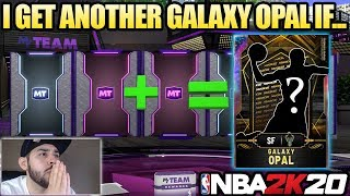 IF I PULL THIS NEW PINK DIAMOND THEN I GET A REWARD GALAXY OPAL IN NBA 2K20 MYTEAM