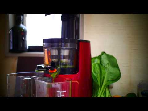 cold press green juice (hurom slow juicer)