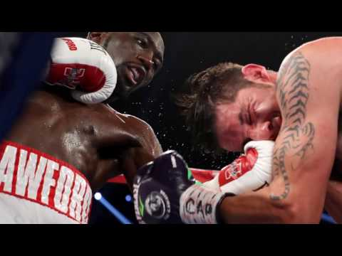 TERENCE CRAWFORD VS. JOHN MOLINA FULL FIGHT AFTERMATH; INTERVIEW AFTER DOMINANT 8TH ROUND TKO
