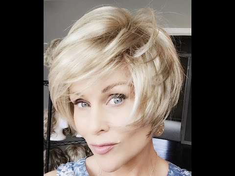 TRESSALLURE Wig Review | KARLA | Frosty Blonde HL
