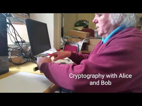 Cryptography with Alice and Bob