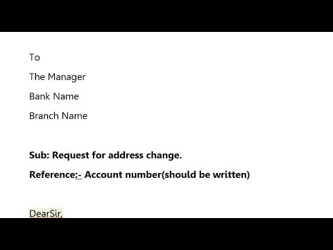 application letter format for mobile number change in bank