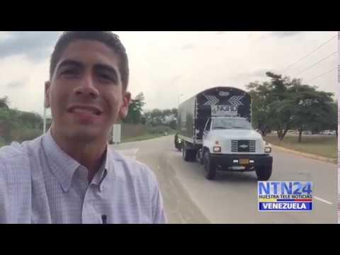 Llegó la ayuda humanitaria al puente Tienditas en la frontera colombo venezolana