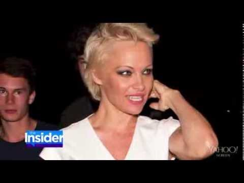 Pamela Anderson Dishes On Pixie Cut At First I Thought I Looked Like Anderson Cooper Youtube