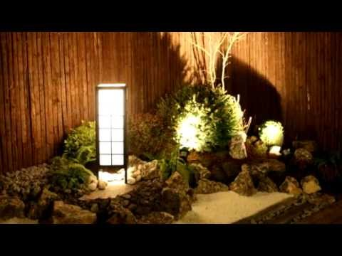 Jardin japones estilo zen youtube for Decoration zen jardin