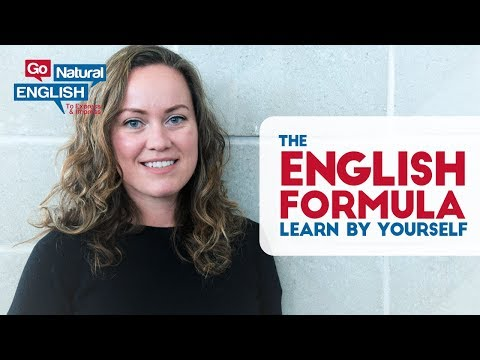 HOW TO LEARN ENGLISH FLUENTLY, EASILY & FAST BY YOURSELF