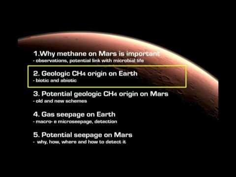 Methane on Mars: potential origin and seepage - Giuseppe Etiope (SETI Talks 2016)