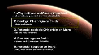 Methane on Mars: potential origin and seepage - Giuseppe Etiope (SETI Talks 2016)