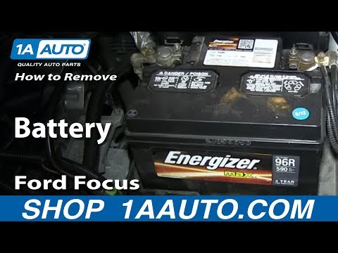 How To Replace Battery 00 07 Ford Focus