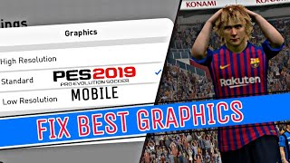 Pes mobile 2019 poor graphics