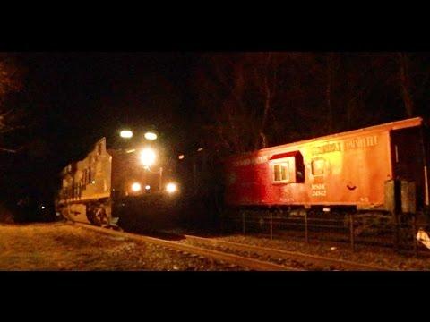 Intermodal on the Susquehanna: CSX Intermodal Train Detours Through Maywood, NJ
