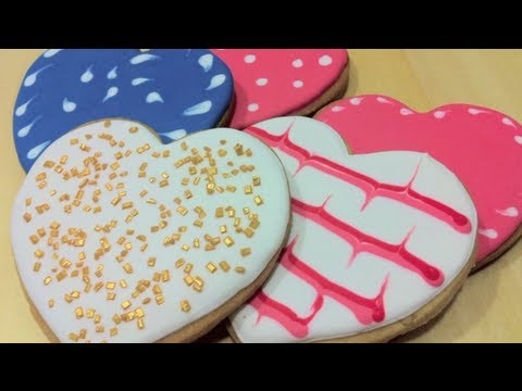 Galletas decoradas con glaseado real - YouTube