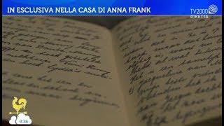 In esclusiva nella casa di Anna Frank