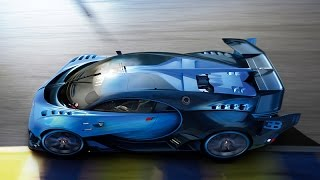 Bugatti Vision Gran Turismo revealed at Frankfurt IAA 2015