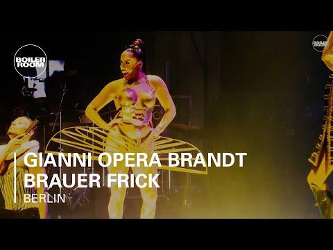 OPERA: Gianni Opera Brandt Brauer Frick Boiler Room Berlin Live