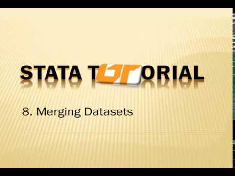 POLS 513 Stata Tutorial #8:  Merging datasets