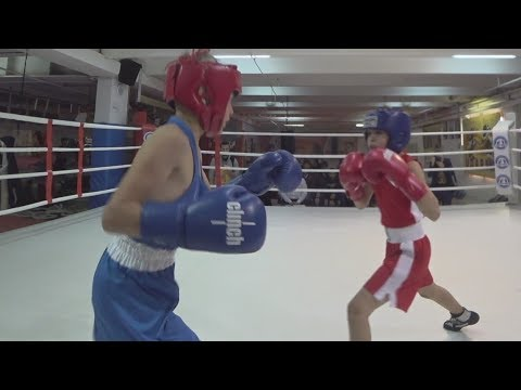 Детский бокс 10 лет. Москва Vs Рязань