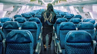 Skrillex private airplaine tour