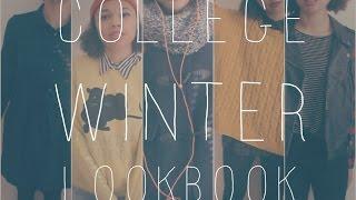 COLLEGE WINTER LOOKBOOK Thumbnail