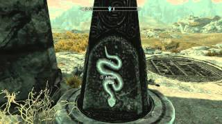 [SKYRIM] Secret Stuff - World Symbol Pillars & +1 to Destruction