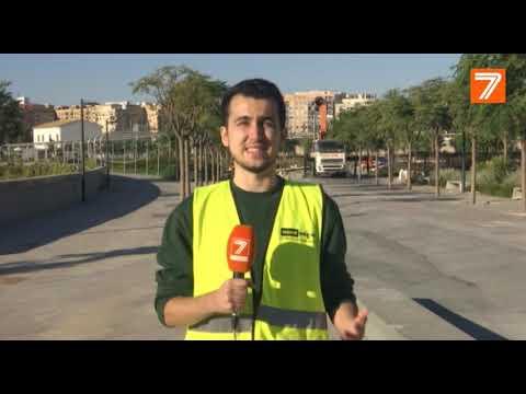 El Parque Central de Valencia sigue sin fecha concreta de apertura