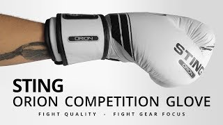Sting Sports Orion Competition Premium Gloves - Fight Gear Focus Mini Review