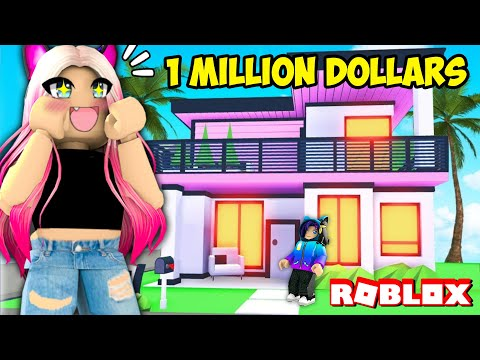 Wengie Builds Her First Dream House In Adopt Me Millionaire