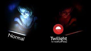 Twilight Android's original blue light filter for better sleep screenshot 1