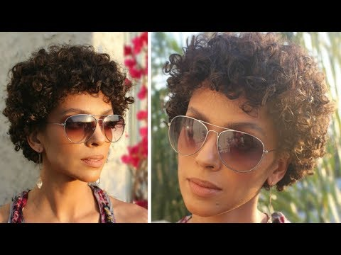 HOW TO: FAKE A SHORT HAIRCUT (AFRO)