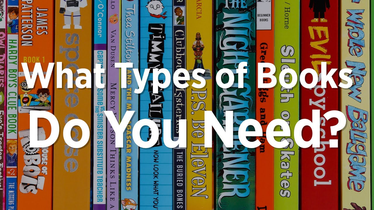 Different Types or Genres of Books With Examples | Genre