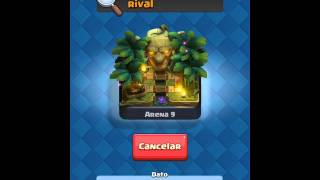 Clash royale opening a magical chest of the clan and a few more