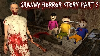 Android Game - Granny Horror Story Part 2 (Animated Cartoon For Kids) Make Joke Horror