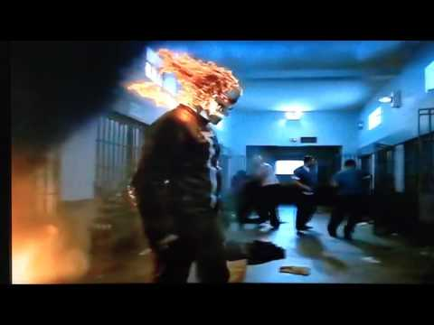 ghost rider kills prisoner.