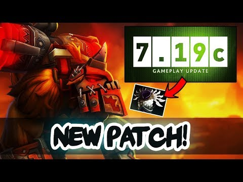 Dota 2 NEW 7.19c PATCH Update - ALL Important Changes! thumbnail