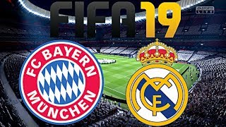 FIFA 19 | FC BAYERN MÜNCHEN vs. REAL MADRID