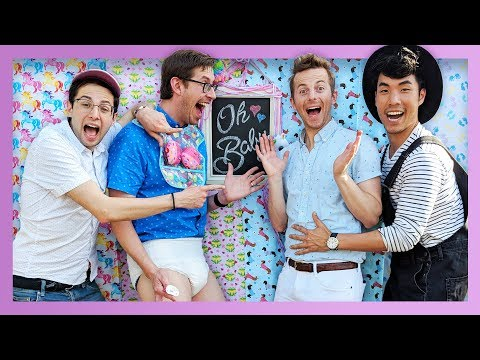 THE TRY GUYS Throw A Baby Shower | Parenthood Part 1