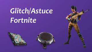 Glitch / Fortnite Tip ''Increase the power of trampolines''