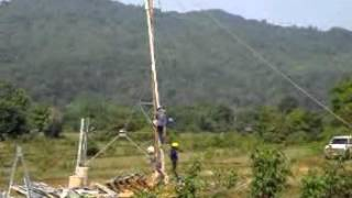 115 kv tower erection vangvieng ban huayxay phu bia mining lao p d r mp4