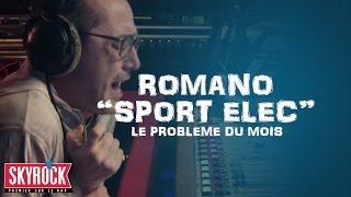 Romano avec le sport Elec lors du problème du mois