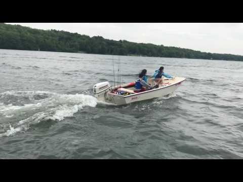 Tanner's 13' Boston Whaler
