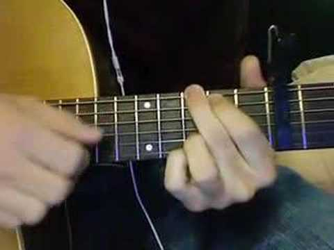 How To Play Lua by Bright Eyes - YouTube